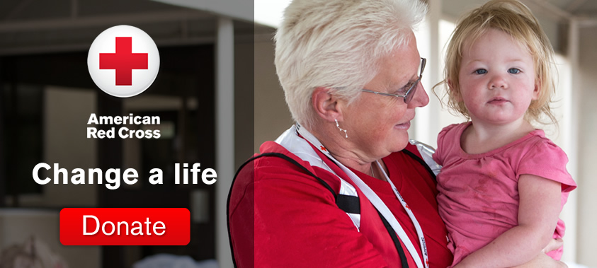 American Red Cross: Change a life - Donate