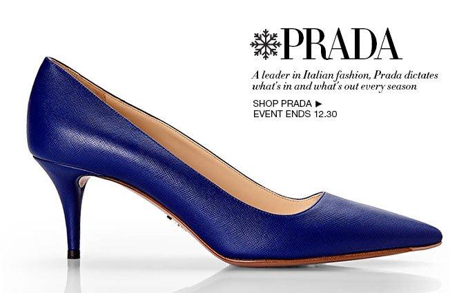 Shop Prada - Ladies Shoes