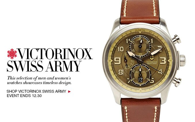 Shop Victorinox Watches - Ladies and Mens