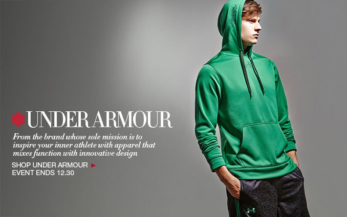 Shop Under Armour - Mens & Luggage