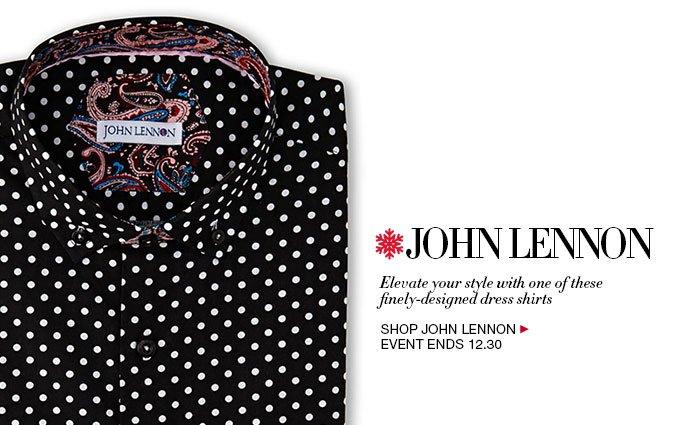 Shop John Lennon Dress Shirts - Mens