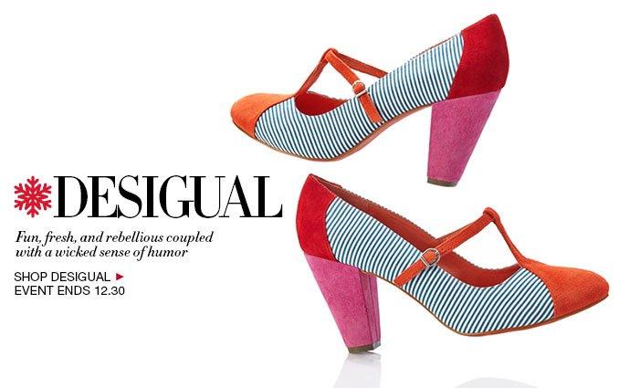 Shop Desigual Shoes - Ladies