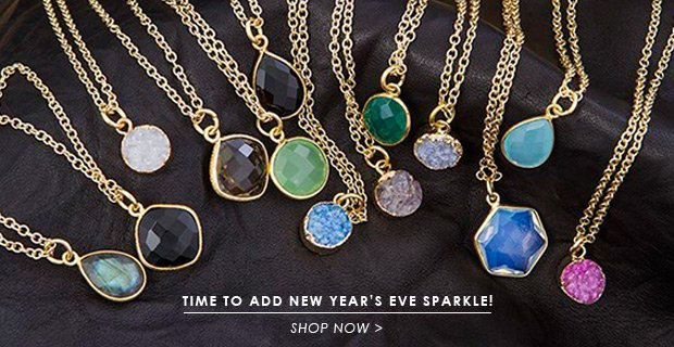 Time to Add New Year's Eve Sparkle! Shop Now