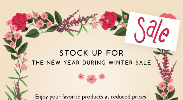 Stock Up for Winter Sale