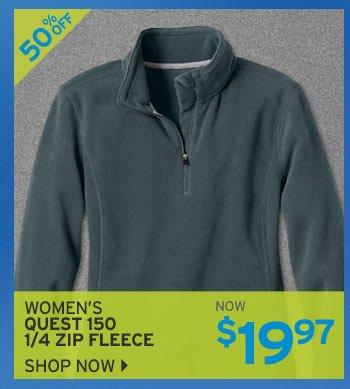 Shop Women's Quest 150 Fleece 1/4 Zip