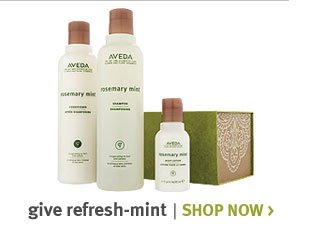 give refresh mint. shop now.