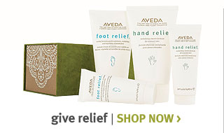 give relief. shop now.
