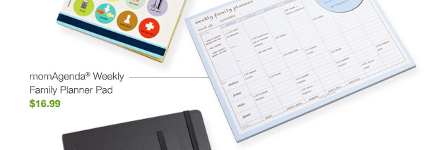 momAgenda Weekly Family Planner Pad $16.99 »