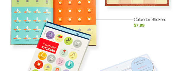 Calendar  Stickers $7.99 »