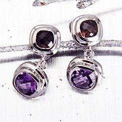 Silver Jewelry Clearance: Earrings & Rings