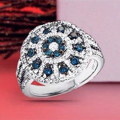 Xmas Day Sale: Diamond Earrings & Rings