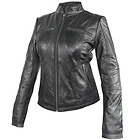 Xelement Womens Cafe Racer Black Casual Leather Jacket