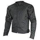 Xelement 'Torque' Mens Black Doublon Textile Jacket