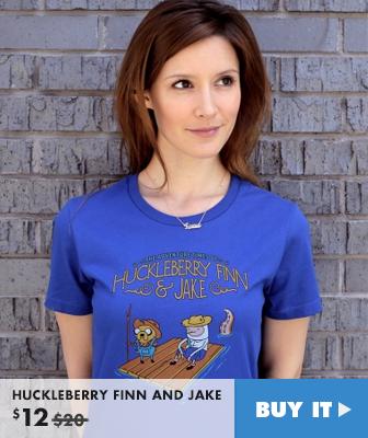 Huckleberry Finn & Jake