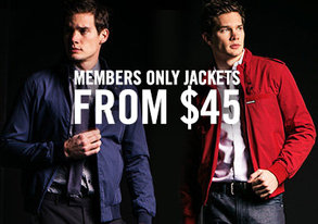 Shop Members Only Jackets from $45