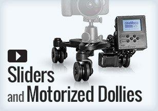 Sliders Motorized Dollies