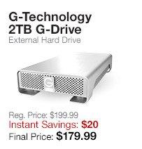 G-Tech 2TB