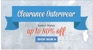 Clearance Outerwear