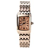 Invicta 15376 Women's Angel Textured Rose Gold Dial Rose Gold Steel Watch