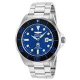 Invicta 14655 Men's Grand Diver Blue Dial Steel Bracelet Dive Watch