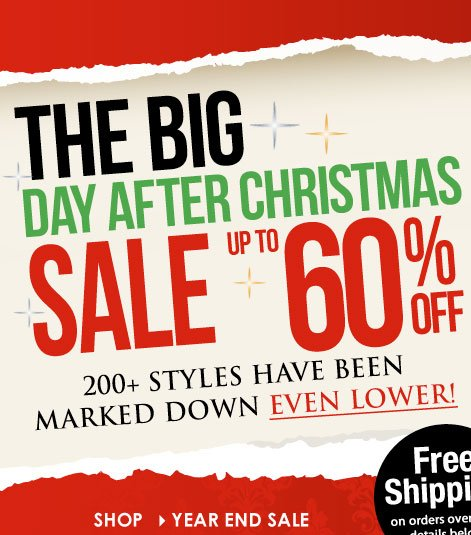 Day After SALE! Up to 60% off, Prices Lower Than Ever!