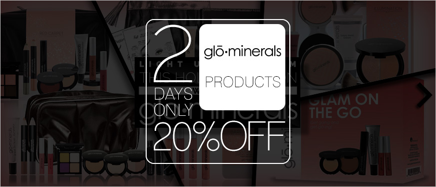 20% Off on GloMinerals - 2 Days Only