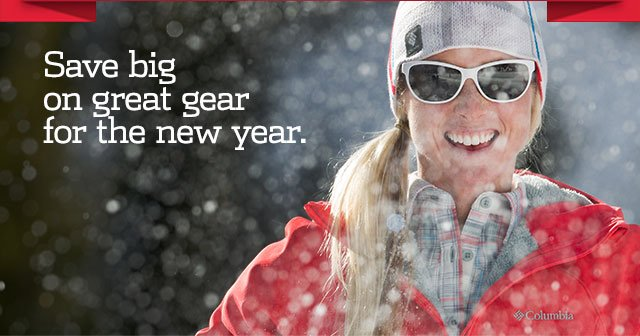 Save big on great gear for the new year.