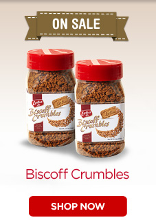 ON SALE - Biscoff Crumbles