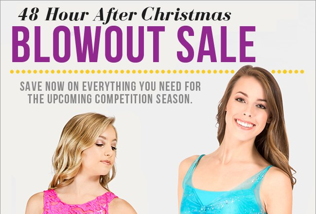 After Christmas Blowout Sale