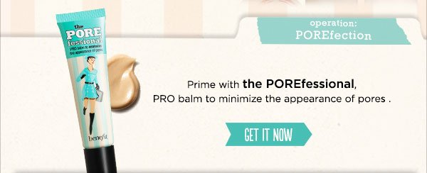 New! The POREfessional: Agent Zero Shine