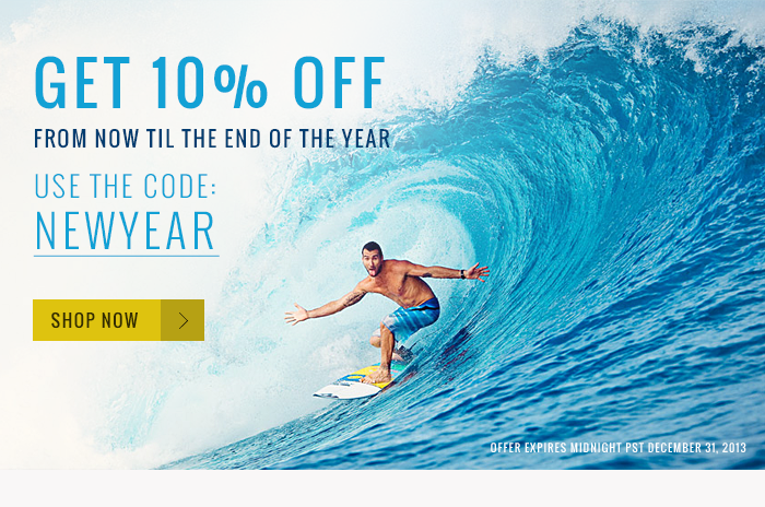 Get 10% Off From Now Til the End of the Year. Use the Code NEWYEAR