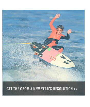 Get the grom a new year's resolution