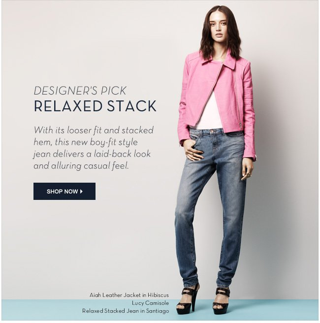 Relaxed Stack Shop Now