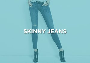 Up to 90% Off: Skinny Jeans