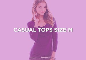 Up to 90% Off: Casual Tops Size M