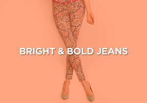 Up to 90% Off: Bright & Bold Jeans