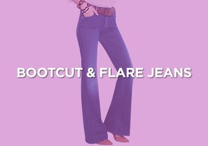 Up to 90% Off: Bootcut & Flare Jeans