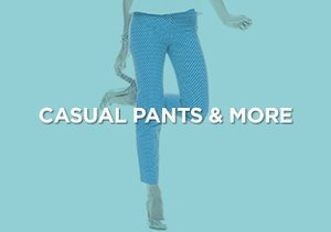 Up to 90% Off: Casual Pants & More