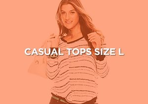 Up to 90% Off: Casual Tops Size L