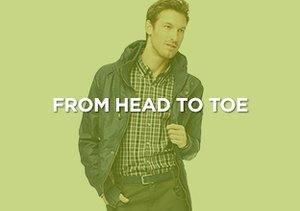 Up to 90% Off: From Head to Toe
