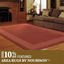 Extra 10% off Featured Area Rugs by Nourison**