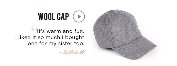 Our Most-Loved Styles: Wool Hat