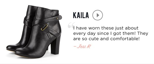 Our Most-Loved Styles: Kaila