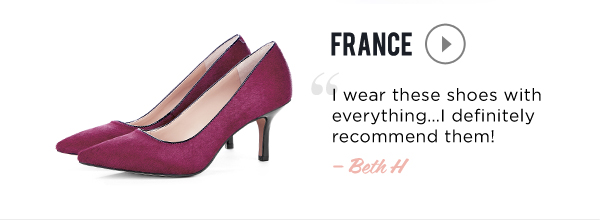 Our Most-Loved Styles: France