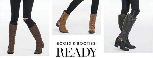 Boots and Booties - Ready to Wear