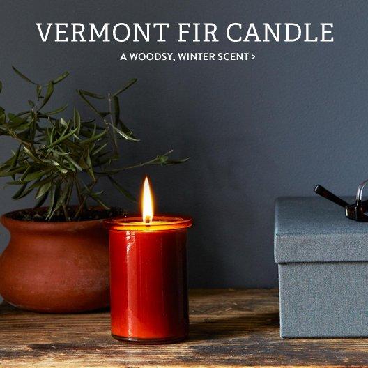 Vermont Fir Candle