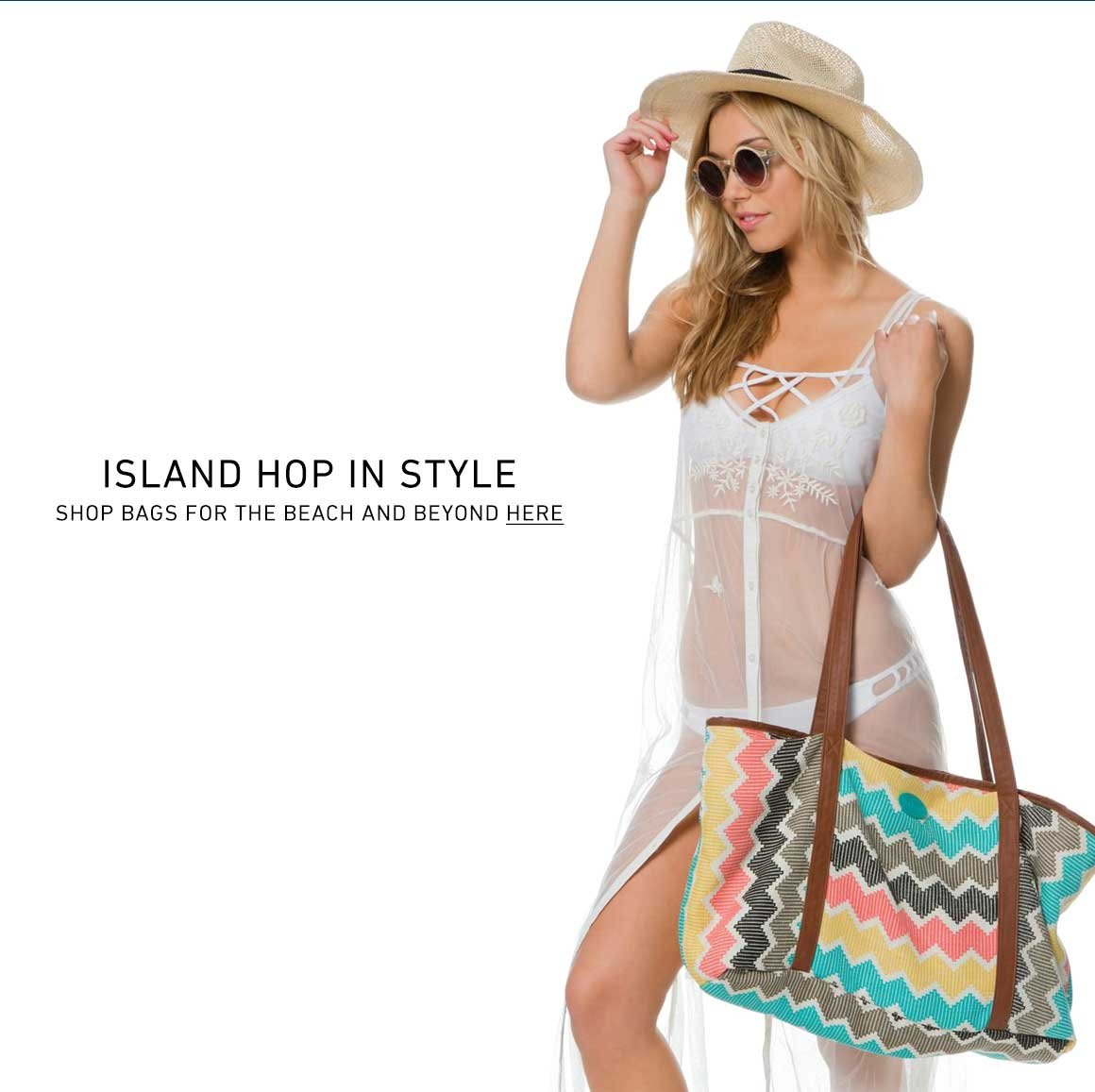 Shop New Bags for the Beach + Beyond