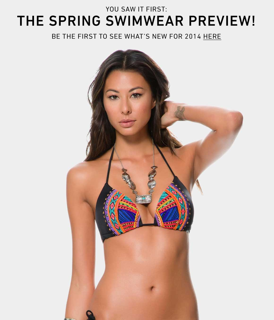The 2014 Spring Swimwear Preview