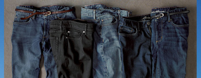 All Men's & Women's Jeans From $29.99