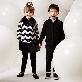 Black & White: Kids' Apparel & Accents